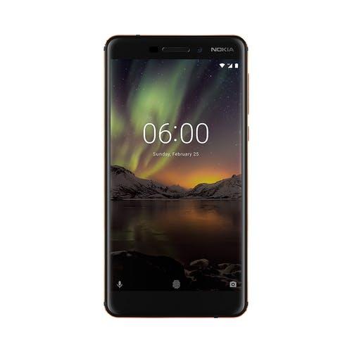 Nokia 6.1 (2018) 32GB Zwart/Koper